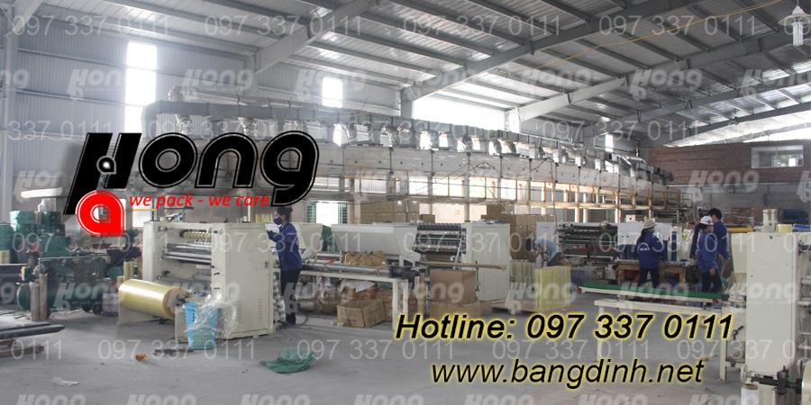 Công ty sản xuất băng dính tại Hà Nội