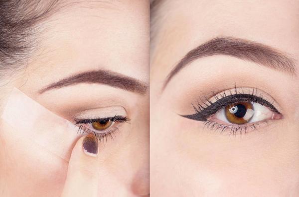 Băng keo có công dụng giúp bạn kẻ viền mắt hiệu quả